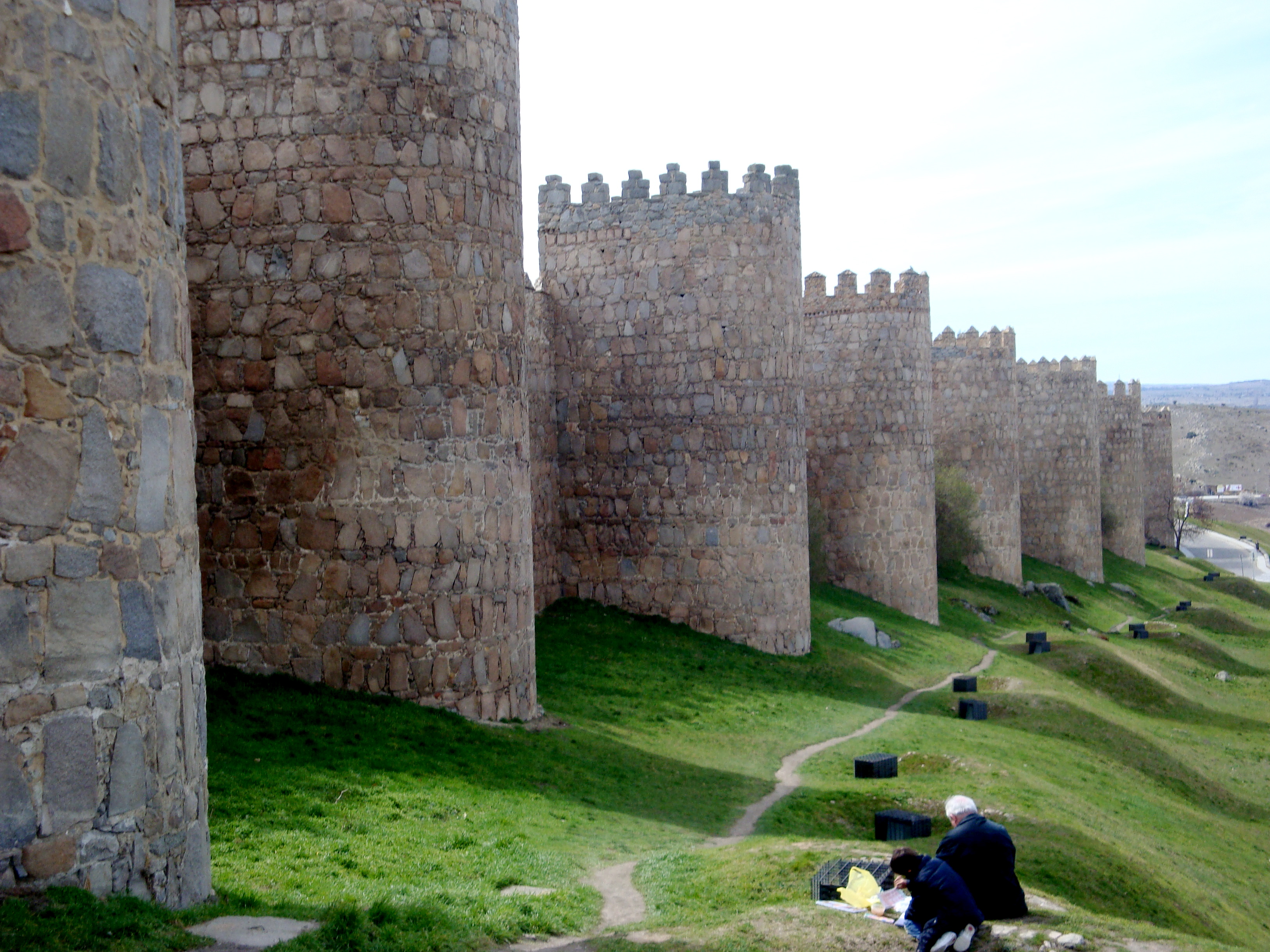 Walls of Ávila, Spain